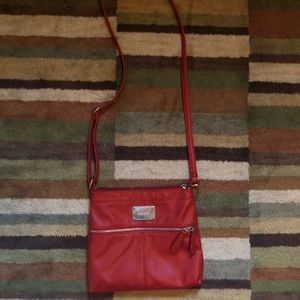 Nine West leather red purse